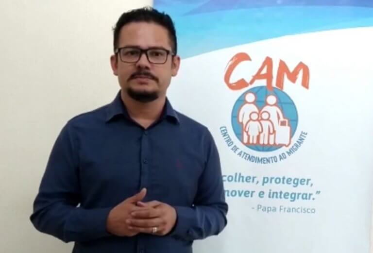 CAM media webnário na 1ª Semana do Migrante do RS
