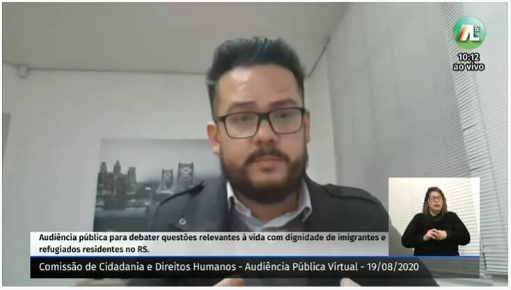 Pandemia aumenta situação de vulnerabilidade dos imigrantes e refugiados que vivem no RS
