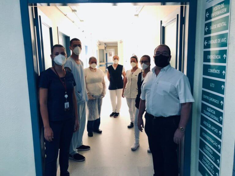 Hospital N. Sra. dos Navegantes amplia capacidade de atendimento a infectados com Covid-19