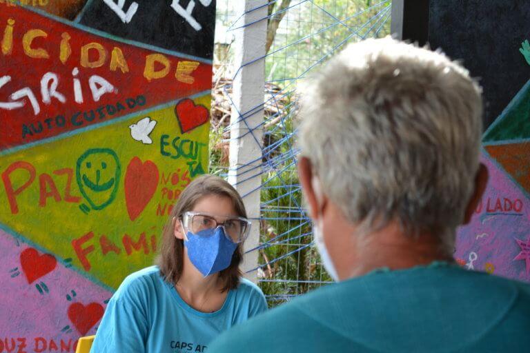 Saúde mental nos CAPS AD tem recorde de pessoas atendidas após um ano de pandemia