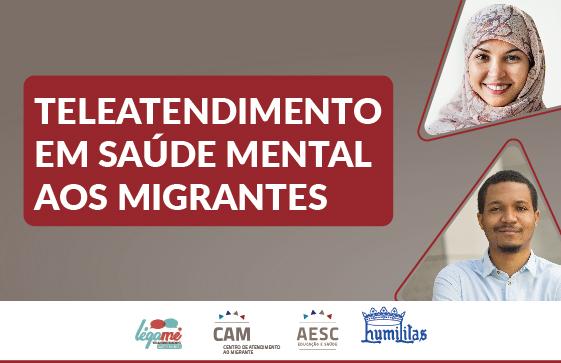 Centro de Atendimento ao Migrante oferece novo serviço dedicado à Saúde Mental